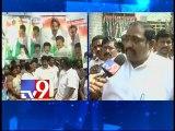 Vijayawada Samaikhyavadis burst crackers as A.P assembly rejects T-Bill