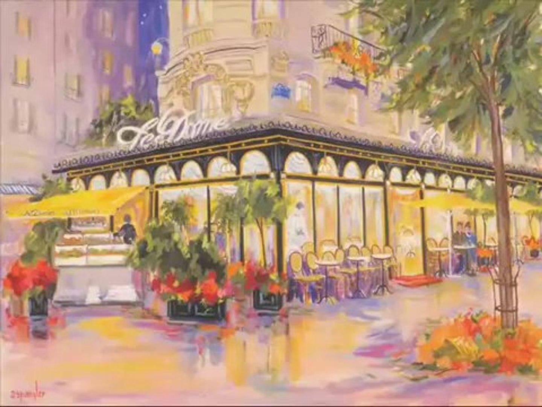 Belle musique classique pour piano - Détente_ piano pacifique - Peintures célèbres français