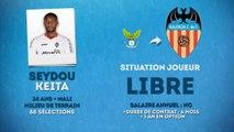 Officiel : Seydou Keita au FC Valence !