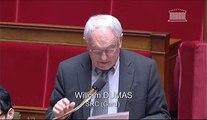 30_01_14_QOSD_Intervention de William Dumas sur la problématique des prélèvements en eau sur certains bassins versants