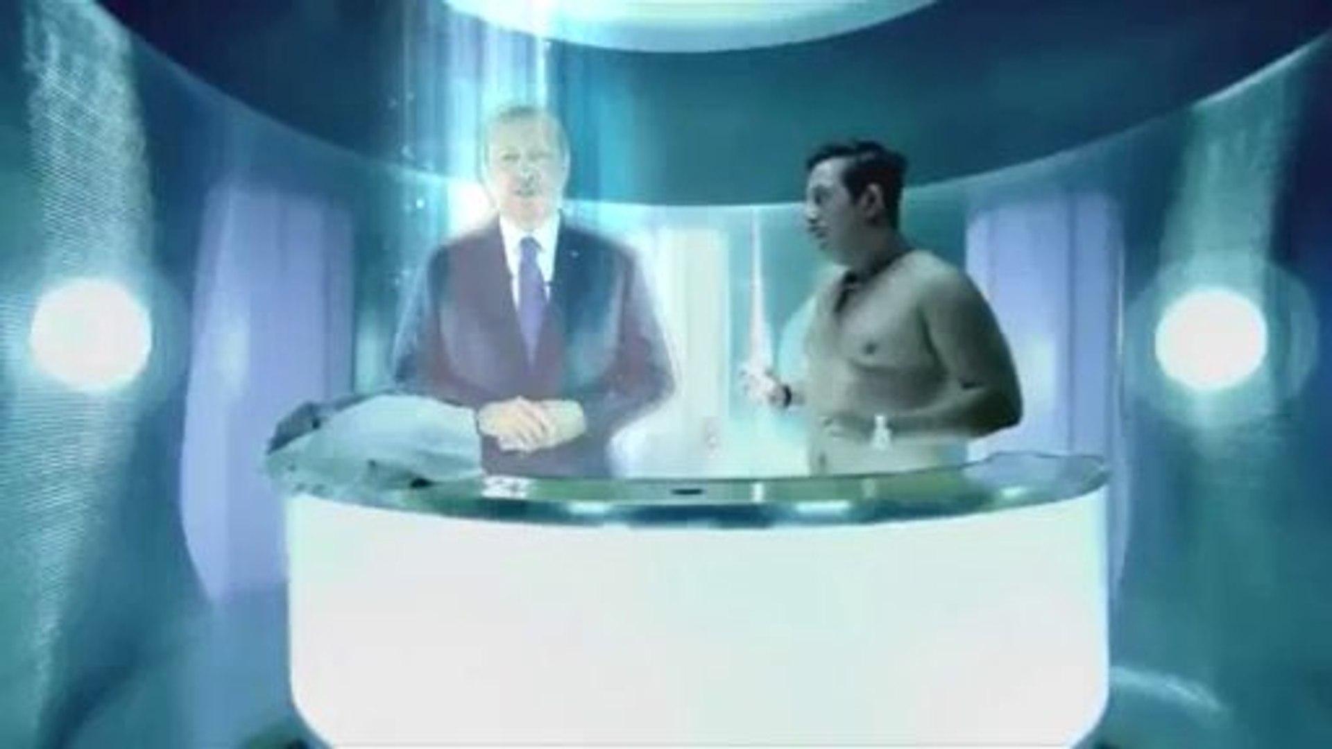 Başbakan'ın Cem Yılmaz ile hologram videosu paylaşım rekoru kırıyor