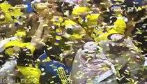 تسليم الكأس #النصر نهائي كأس ولي العهد 2013-2014