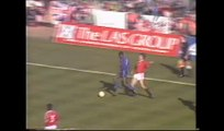 Oldham Athletic v Man Utd FA Cup 1990 Second Half