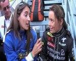 24H du Mans - Interview Vanina Ickx