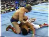 Steven Regal vs Ricky Steamboat - WCW Fall Brawl 1993