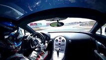 Bugatti Veyron à l'assault du Fuji Speedway