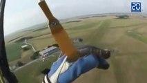 Il perd connaissance pendant un saut en parachute