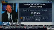Faiveley Transport: baisse du chiffre d'affaires au T3: Thierry Barel, dans Intégrale Bourse – 31/01
