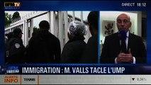 """BFM Story: Politique d'immigration de l'année 2013: """"Le gouvernement a baissé la garde en matière de lutte contre l'immigration illégale"""", Éric Ciotti - 31/01"""