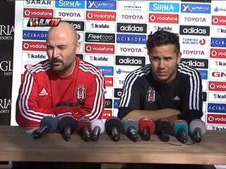 Futbolcularımız Motta ve Kerim Frei Basın Toplantısı Gerçekleştirdi
