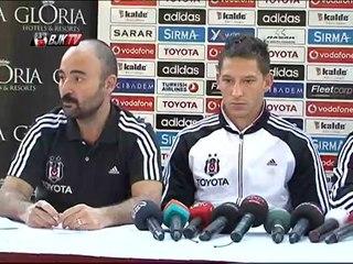 Futbolcularımız Uğur Boral ve Filip Holosko Basın Toplantısı Gerçekleştirdi