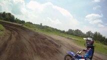 GoPro Dirt Bike Action - Super Fast Laps At Bithlo