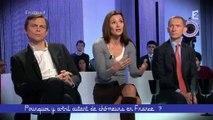 """""""Le chomage aurait pu etre pire en France"""" Natacha Valla - Ce soir ou jamais"""