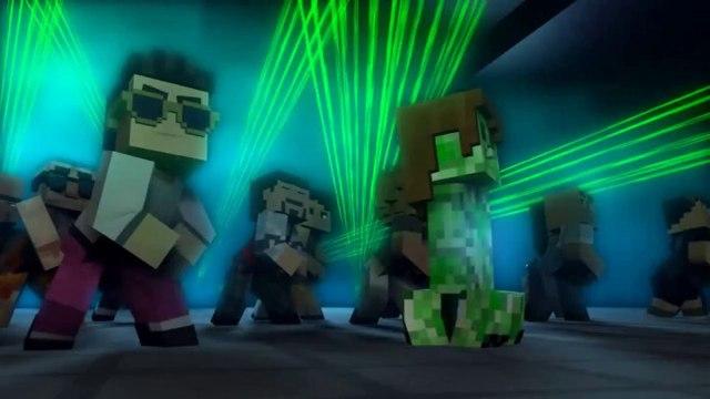 Minecraft Style  - A Parody of PSY's Gangnam Style (Music Video) ČZ
