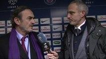 L'après-match de Alain Roche, Paris / Bordeaux, J-L. Triaud