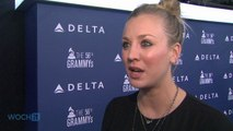 "Kaley Cuoco-Sweeting ""Giddy"" Over Seeing Married Name On TV, Johnny Galecki Not So Much"