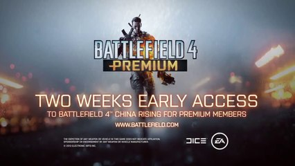 Battlefield 4 China Rising Expansion Pack DLC Trailer
