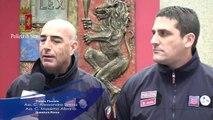 Polizia di Stato - Calendario della Polizia di Stato 2014 interviste ai protagonisti -1- (06.12.13)