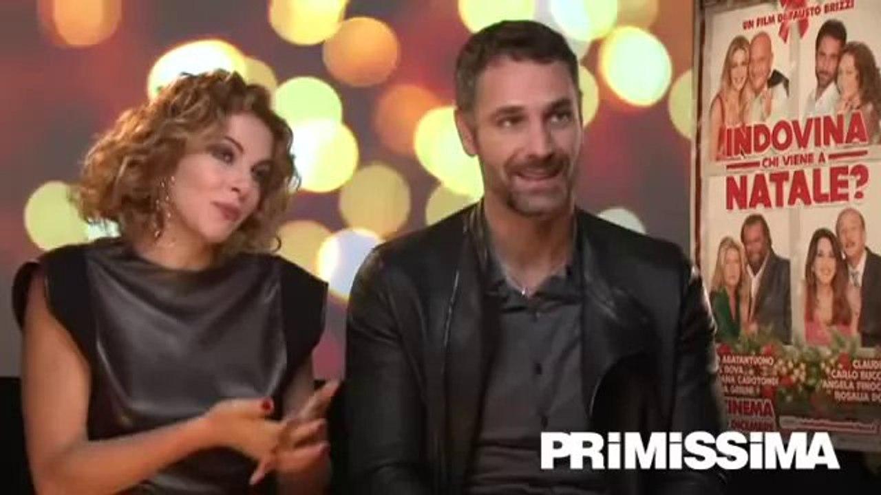 Amore Nero Raoul Bova video intervista a claudia gerini e raoul bova per indovina chi viene a  natale?