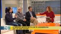 TV3 - Els Matins - La crisi fa augmentar en un 19% els casos de depressió