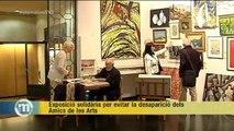 TV3 - Els Matins - Exposició solidària per evitar la desaparició dels Amics de les Arts
