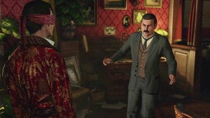 Gameplay de Sherlock Holmes: Crimes & Punishments