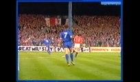 Oldham Athletic v Man Utd    1990 FA Cup Replay First Half