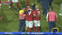 Perugia - Salernitana 1-0 | Highlights and Goals | Prima Divisione Gir.B 16^ Giornata 14/12/2013
