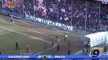 Salernitana - Prato 0-2 | Goals and Highlights | Prima Divisione Gir.B 15° Giornata 8/12/2013