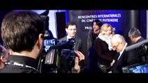 La montée des marches des Rencontres de cinéma de Vincennes 2014 avec Olivier Marchal et Yves Boisset