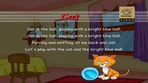 Learn ABCD - Alphabets with Fun Rhymes - C for Cat, C for Clock