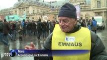 Emmaüs célèbre les 60 ans de l'appel de l'Abbé Pierre à Paris