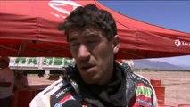 Sainz aprieta y lidera coches, Barreda sufre y Despres naufraga en el Dakar