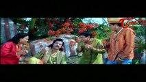 Pandurangadu Comedy   Balakrishna Eyes Lord Srikrishna's Girl Friends Record