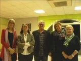 Salernes Voeux 2014 Maison de retraite de Salernes – EHPAD départ à la retraite de Marie MALHERBE Directrice de l'établissement Salernes  Dracénie Var