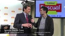 Tomás Pascual e Ignacio García, presidente y CEO de 'Calidad Pascual'. 14-1-2014