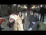 Napoli - Il presepe in galleria Principe (23.12.13)