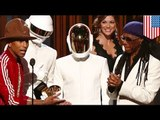 Daft Punk wins five Grammys with Pharrell Williams for Get Lucky