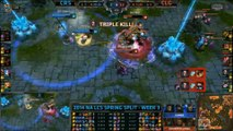 LCS NA Week 3 Day 1 Highlight - League of Legends