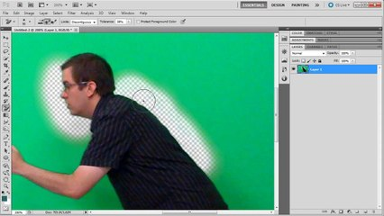 Photoshop: Remove Green Screen / Chroma Keying - Tutorial