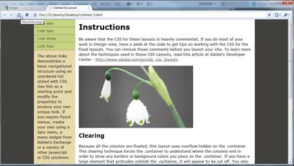 Dreamweaver: Fading Image Effect (Using Spry) - Tutorial