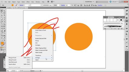 Illustrator: Draw Inside of Objects - Tutorial