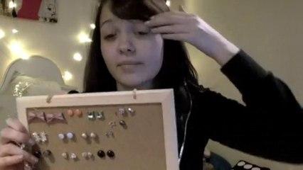 DIY Earring Holder :)