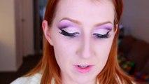 Purple Cut Crease Makeup Tutorial