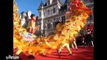 Nouvel an chinois : la danse du lion à Paris