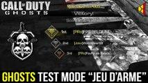 """Ghosts // Test du mode """"Jeu d'arme"""" avec FouFoune Palace (Nouveau Mode) [LIVE]   FPS Belgium"""