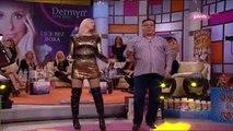 Donna Ares i Halid Beslic - Sviraj nesto narodno - (Nedeljno popodne Lea Kis) - (TV Pink 2 2 2014)