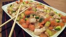 Pollo con almendras - Recetas de comida china