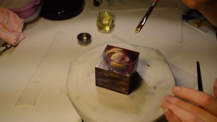 How I Make My Cosmic Cube Paintings