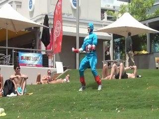 EPIC THRUSTING! feat. Captain America